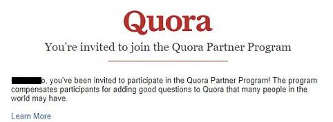 how to make money on quora partner program
