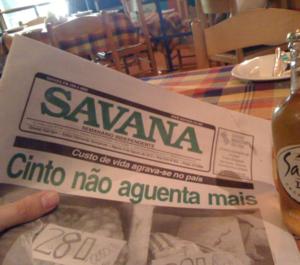 writes the newspaper